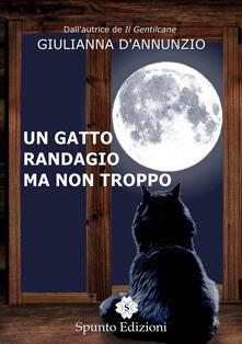 Un gatto randagio ma non troppo - Giulianna D'Annunzio - copertina