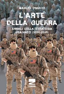 L' arte della guerra - Manlio Dinucci - copertina