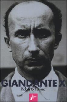 Giandante X - Roberto Farina - copertina