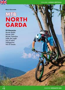 Mountain bike Alto Garda. 54 percorsi Monte Baldo, Monte Velo, Monte Tremalzo, Valle dei Laghi, Val di Ledro, Vallagarina, Val di Gresta. Ediz. inglese - Marco Giacomello - copertina
