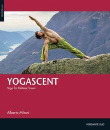 Yogascent - Alberto Milani - copertina