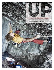 Up. European climbing report 2017. Annuario di alpinismo europeo - copertina