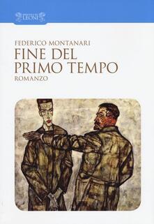 Fine del primo tempo - Federico Montanari - copertina
