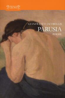 Parusia - Gianfranco Jacobellis - copertina
