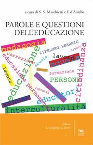 Libro Parole e questioni dell'educazione