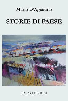 Storie di paese - Mario D'Agostino - copertina