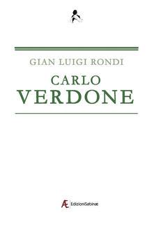 Carlo Verdone - Gian Luigi Rondi - copertina