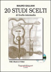 20 studi scelti di livello intermedio. Con DVD. Ediz. italiana, inglese, francese
