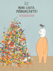 Meno carta Mangiacarta! - Simone Baracetti - copertina