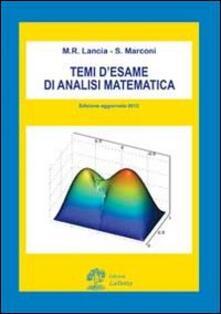 Atomicabionda-ilfilm.it Temi d'esame di analisi matematica Image