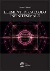 Elementi di calcolo infinitesimale