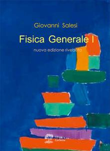Fisica generale 1 - Giovanni Salesi - copertina