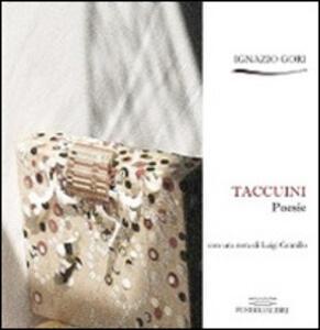 Taccuini - Ignazio Gori - copertina