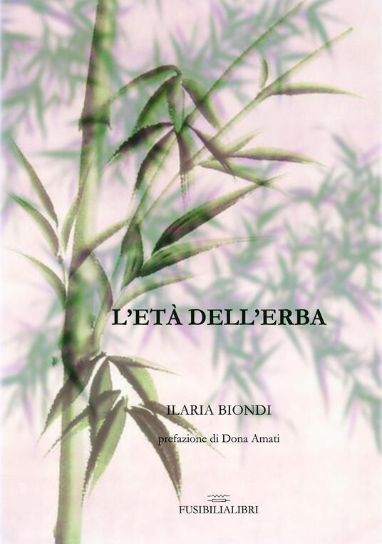 L' età dell'erba - Ilaria Biondi - copertina