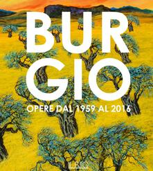 Burgio. Opere dal 1959 al 2016. Catalogo della mostra (Reggio Emilia, 16 settembre-17 ottobre 2016) - copertina
