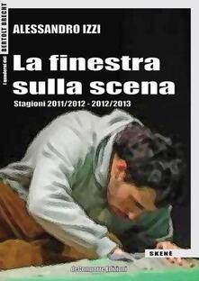 La finestra sulla scena - Alessandro Izzi - copertina