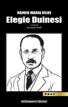 Elegie duinesi - Rainer Maria Rilke - copertina