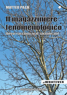 Il magazziniere fenomenologico - Matteo Pazzi - copertina