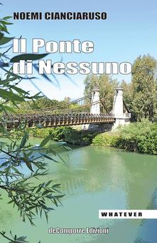 Il ponte di nessuno - Noemi Cianciaruso - copertina