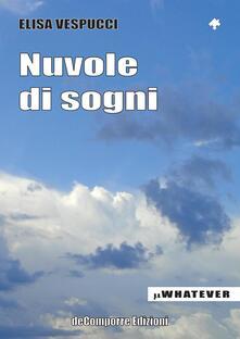 Nuvole di sogni - Elisa Vespucci - copertina