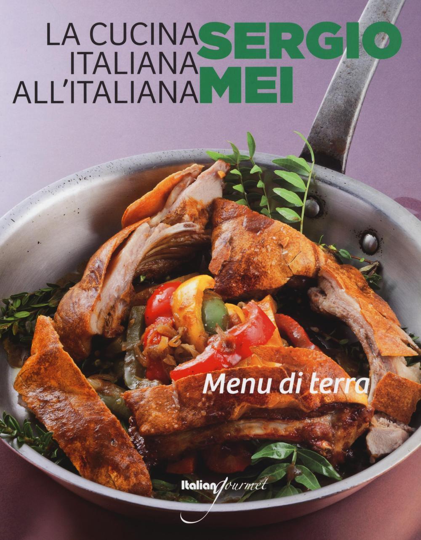 Menu di terra sergio mei libro italian gourmet for P cucina italiana