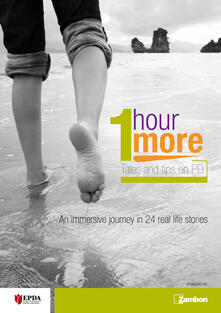 1 hour more. Tales and tips on PD. An immersive journey in 24 real life stories