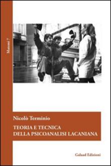 Premioquesti.it Teoria e tecnica della psicoanalisi lacaniana Image