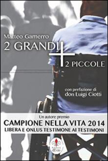 2 grandi + 2 piccole - Matteo Gamerro - copertina