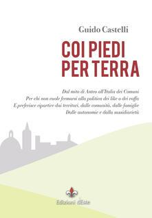 Coi piedi per terra - Guido Castelli - copertina