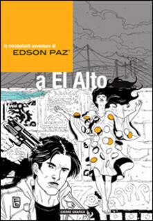 Edson Paz e la signora di Cao - Fabio Babich - copertina
