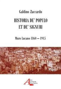 Historia de' populo et de' signuri. Muro Lucano 1860-1915