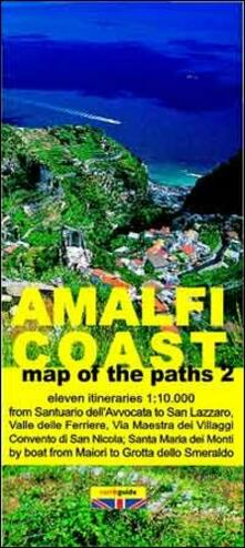 Map of the paths of the Amalfi coast. Scale 1:10.000. Vol. 2: From Maiori to Fiordo di Furore..pdf