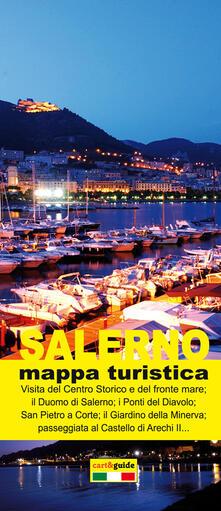 Tegliowinterrun.it Salerno. Mappa turistica di Salerno. Ediz. italiana e inglese Image
