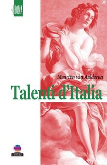 Talenti d'Italia - Maarten Van Aalderen - copertina
