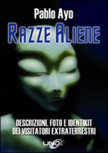 Razze aliene - Pablo Ayo - copertina