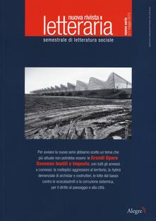 Aboutschuster.de Nuova rivista letteraria (2015). Vol. 1: Grandi opere dannose inutili e imposte. Image