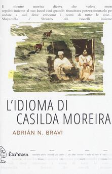 L' idioma di Casilda Moreira - Adrián N. Bravi - copertina