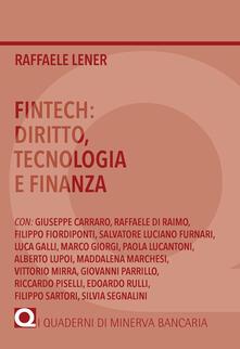 Voluntariadobaleares2014.es Fintech: diritto, tecnologia e finanza Image