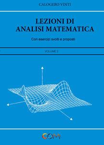 Lezioni di analisi matematica. Vol. 2