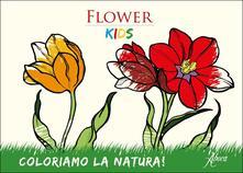 Antondemarirreguera.es Flower Kids. Blocco da colorare Image