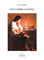 Una candela accesa