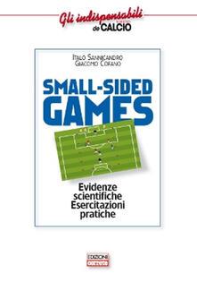 Criticalwinenotav.it Small-sided games. Evidenze scientifiche. Esercitazioni pratiche Image