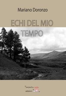 Echi del mio tempo - Mariano Doronzo - copertina