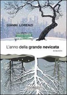 L' anno della grande nevicata - Gianni Lorenzi - copertina