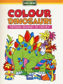 Associazionelabirinto.it Colour dinosauri giallo Image