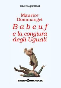 Babeuf e la congiura degli uguali
