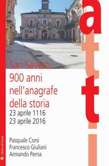 Ristorantezintonio.it San Severo 900 anni nell'anagrafe della storia. 23 aprile 1116-23 aprile 2016 Image