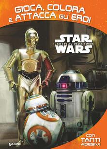 Listadelpopolo.it Star Wars. Gioca, colora e attacca gli eroi. Con adesivi Image