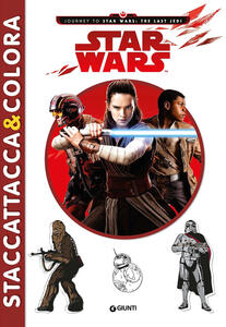Star Wars. Staccattacca & colora. Con adesivi. Ediz. a colori