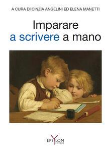 Ristorantezintonio.it Imparare a scrivere a mano Image
